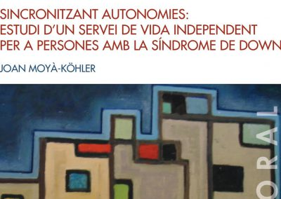 Synchronizing autonomies: study on an independent living service for people with Down syndrome